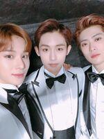 Jungwoo, Winwin & Jaehyun December 20, 2018