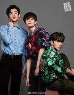 Ten Winwin Yangyang Bella Magazine (August 2019)