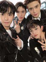 Doyoung, Ten, Jaehyun & Lucas Dec 25, 2018