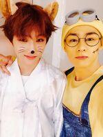 Jisung & Kun Oct 31, 2018