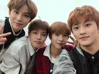 Jungwoo, Taeil, Renjun & Mark Jan 21, 2019