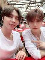 Johnny & Jaehyun Jan 21, 2019