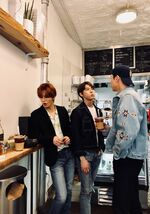 Johnny yuta doyoung april 25, 2019 (2)