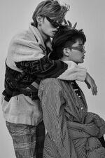 Taeil Yuta L'Officiel Hommes (October 2018) 3