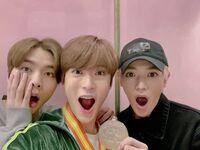 Johnny, Jaehyun & Taeyong Feb 6, 2019 (2)