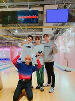Jaehyun, Johnny & Taeyong with Chanyeol Feb 6, 2019