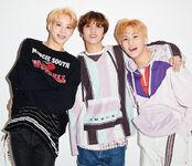Jungwoo Mark Haechan Vivi Magazine (June 2019) 3