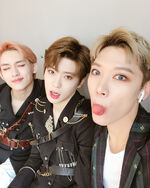 Ten Jaehyun Winwin March 3, 2018 (2)