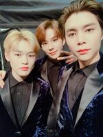 Chenle, Jungwoo, Johnny Dec 28, 2018