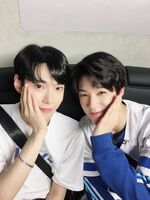 Doyoung Jeno May 29, 2018 (1)
