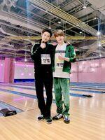 Jaehyun with Chanyeol of EXO Feb 5, 2019