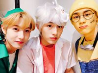 Renjun, Winwin & Kun Oct 31, 2018