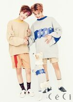 Mark & Jaemin (October 2016 Issue)