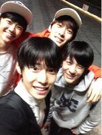Jaemin, Jaehyun, Jeno & Doyoung Nov 21, 2018