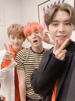 Mark, Taeyong & Johnny Dec 29, 2018 (2)