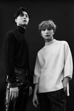 Johnny & Haechan (Flaunt Magazine)