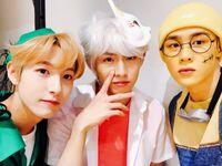 Renjun, Winwin & Kun Oct 31, 2018 (2)