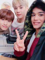 Winwin, Kun & Lucas Nov 8, 2018