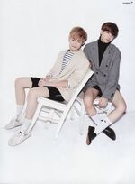Chenle & Jaemin (Oh Boy September 2016 Issue)