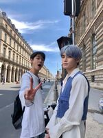 Taeyong Doyoung July 11, 2019 (2)