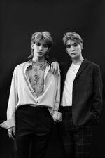Taeyong & Jaehyun (Flaunt Magazine)
