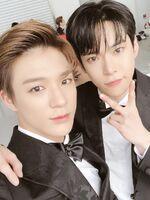 Jeno & Doyoung Dec 25, 2018