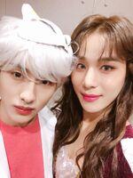 Winwin & Jungwoo Oct 31, 2018