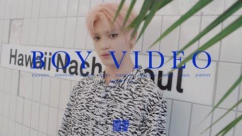 NCT 127 BOY TAEYONG VIDEO