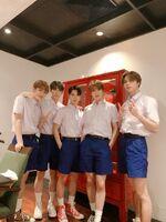 Mark, Doyoung, Ten, Jaehyun & Johnny Dec 10, 2018