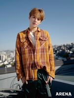 Jungwoo (Arena Homme May 2018)