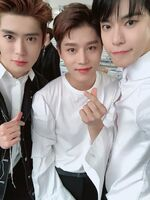 Jaehyun, Taeil and Doyoung Dec 25, 2018