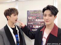 Jisung and jeno april 11, 2019