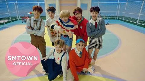 NCT DREAM Chewing Gum Hoverboard Performance Video