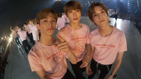 N'-56 NCT in SMTOWN OSAKA 6 - ENDING STAGE '빛 (Hope)' Selfcam FULL Ver.