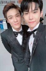 Jeno & Doyoung Dec 25, 2018 (2)