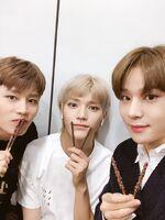 Taeil, Taeyong & Jungwoo Nov 11, 2018