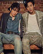 Taeyong & Winwin (Vogue Decmeber 2016 Issue)