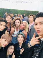 NCT 127 + Katy + Cynthia August 8, 2019 (2)