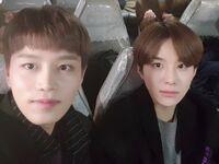Taeil & Jungwoo Nov 24, 2018