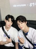 Doyoung Jeno May 29, 2018 (2)