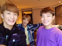 Mark, Yuta & Taeil Dec 10, 2018