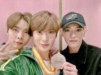 Johnny, Jaehyun & Taeyong Feb 6, 2019