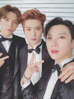 Johnny, Jaehyun & Ten Dec 25, 2018
