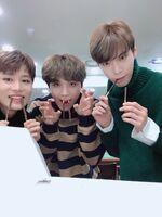 Taeil, Haechan & Doyoung Nov 11, 2018 (2)