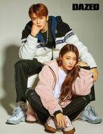 Jaehyun & Chungha (Dazed Korea November 2018)