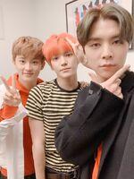 Mark, Taeyong & Johnny Dec 29, 2018