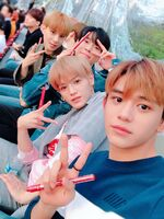 Taeyong Doyoung Jungwoo Lucas Mark May 6, 2018