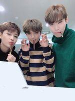 Taeil, Haechan & Doyoung Nov 11, 2018