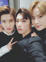 Ten Jaehyun Jungwoo June 23, 2018 (2)