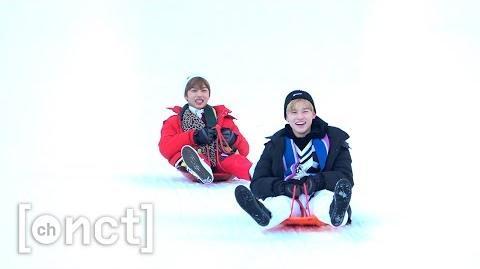 눈썰매 타러 레고레고~! (Let's go for snow sledding) 천지의 이것저것 Ep